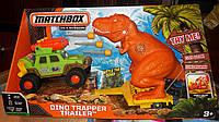 Игровой набор Matchbox Dino Trapper Trailer Ловушка для динозавра