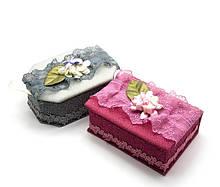 Шкатулки из ткани