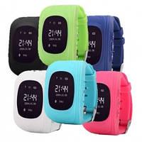 Детские телефон-часы Q50 с GPS маячком (оригинал)