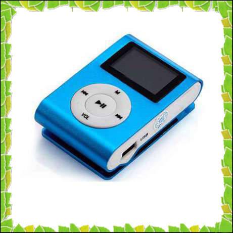 Плеер MP3 металл,с экраном,радио и клипсой