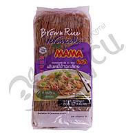 Вермишель Mama из коричневого риса 400 гр.