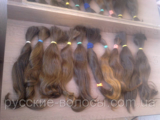 Russian hair - quality raw materials for hair extensions and wigs.