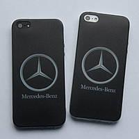Чехлы для iPhone 5 5S SE Mercedes силиконовые, фото 1