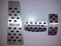 Накладки на педали Ralliart для Mitsubishi Pajero Sport