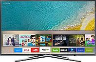 Смарт тв Samsung UE-32K5550 Full HD, 400Гц, Wi-Fi, T2/C/S2, серебристый.