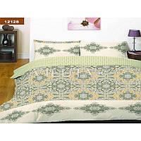 Двухспальный комплект постельного белья 12128 ТМ «Вилюта» (ранфорс-платинум)