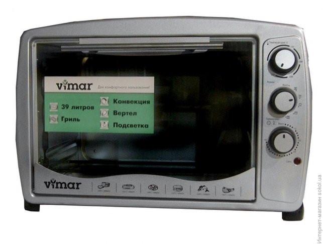 Духовка электрическая VIMAR VEO - 3911 на 39 литров , гриль + конвекция + пдсветка
