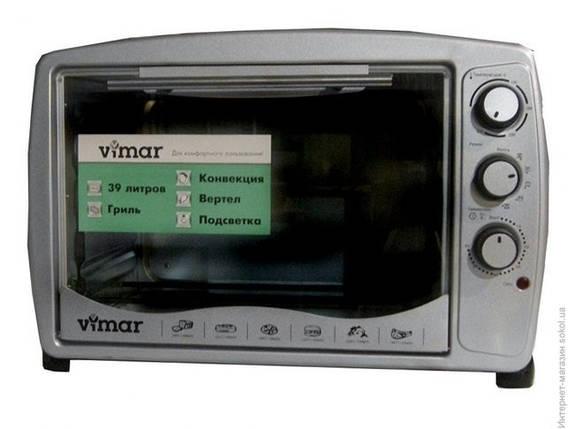 Духовка электрическая VIMAR VEO - 3911 на 39 литров , гриль + конвекция + пдсветка, фото 2