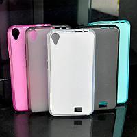 HOMTOM HT16 Силиконовый бампер 3 цвета черный\белый\розовый