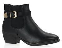 Короткие,осенние ботинки для женщин 37-40