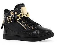 Стильные,зимние кеды,ботинки размеры 38(24см)