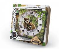 "Набор для творчества ""Embroidery clock"" Еноты (Набор для)"