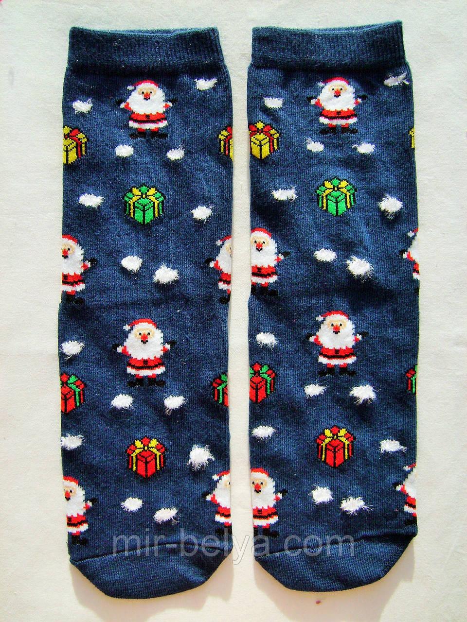 Женские рождественские носки новогодние на подарок Ekmen