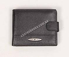 Мужской кожаный кошелек Tailian T120D-12H09-B Черный