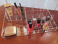 Подставка для косметики прозрачная, фото 1