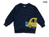 """Теплая кофта """"Машина"""" для мальчика. 92, 98, 104, 110, 116, 122 см"""