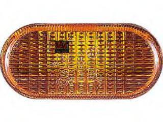 Указатель поворота на Renault Trafic  01->06  L / R (желтый, на крыло)  —  DEPO  (Тайвань) - 551-1403N-UE