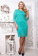 Платье вечернее больших размеров Partty р 48,50,52,54