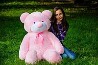 Плюшевый мишка Рафаэль 140 см. Игрушки мишки. Купить мягкого мишку. Мишки Украина розовый