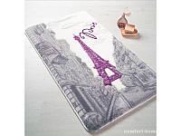 Набор ковриков для ванной Confetti - Paris 01 purple 57*100 и 50*57 см