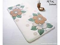 Набор ковриков для ванной Confetti - Petal 01 salmon 57*100+50*57 см