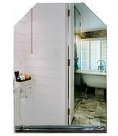 Зеркало с полочкой для ванной (70х50 см)