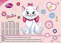 """Подложка для стола 1Вересня 470224 детская """"Мери Кет"""", 50х35см плотная +алфавит + таблица умножения"""