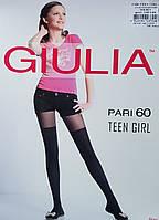 Колготки для девочек подростков с имитацией гольфов
