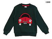 """Теплая кофта """"Машина"""" для мальчика. 98, 104, 110, 116, 122 см"""