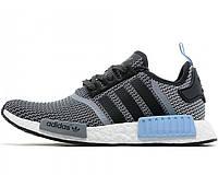 Мужские кроссовки Adidas NMD Runner Grey/Light Blue