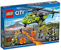 LEGO City Грузовой вертолёт исследователей вулканов / Volcano Supply Helicopter