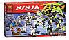 Конструктор Bela серия NINJA / Ниндзя 10399 Бой механических титанов (аналог Lego Ninjago 70737)