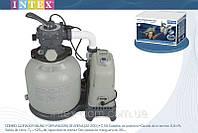 Песочный фильтрующий насос 10 м3/ч с хлорогенератором, Intex 28682(56682)