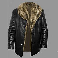 Зимняя куртка с мехом енота 2