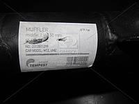 Глушитель МТЗ, ЮМЗ среднийчерный (L=1150 мм) (TEMPEST) 60-1205015-АС