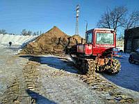 Грунт на подсыпку. Доставка сыпучих строительных материалов по Киеву и области.