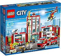 Lego City Пожарная часть / Fire Station