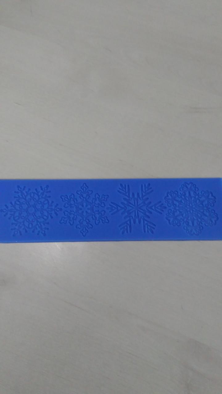 """Силиконовый коврик """"Снежинка 1"""" (код 05385)"""
