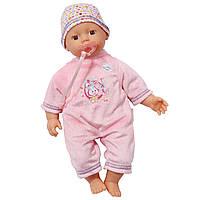 Пупс с соской Нежная кроха My Little Baby Born Zapf Creation 819753
