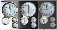 Часы  барометр гигрометр термометр PEARL Бесшумный механизм