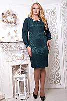 Платье вечернее больших размеров Руби 58-60