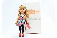 Кукла Paola Reina - Карла в платье в клеточку (бесплатная доставка)