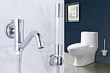 Смеситель кран с лейкой для ванной комнаты, фото 4
