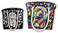 "Сумка раскраска Anti Stress для девочек - набор для креативного творчества ""My kolor Case""от Danko Toys (соб)"