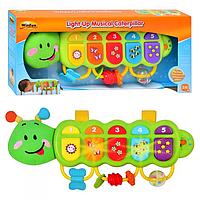 Детская развивающая игрушка Пианино Гусеничка 0215