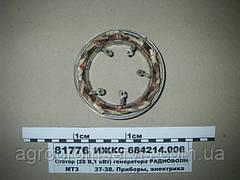 Статор генератора 28В,1кВт ИЖКС 684214.006