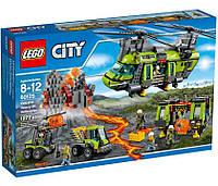 Lego City Грузовой Вертолёт Исследователей Вулканов / Volcano Heavy-lift Helicopter