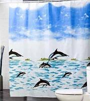 Шторка Дельфины, фото 1