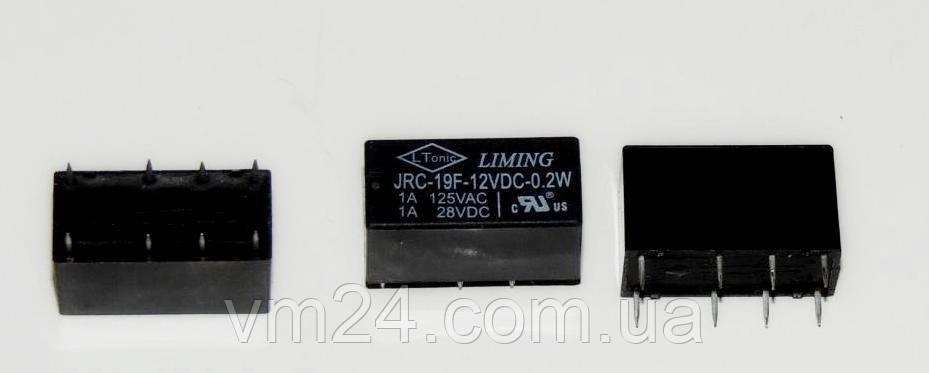 Реле JRC-19F-12VDC\ 1A 120VAC 2A/24VDC