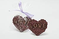 """Фигрурка шоколадная """"Сердце LOVE"""""""